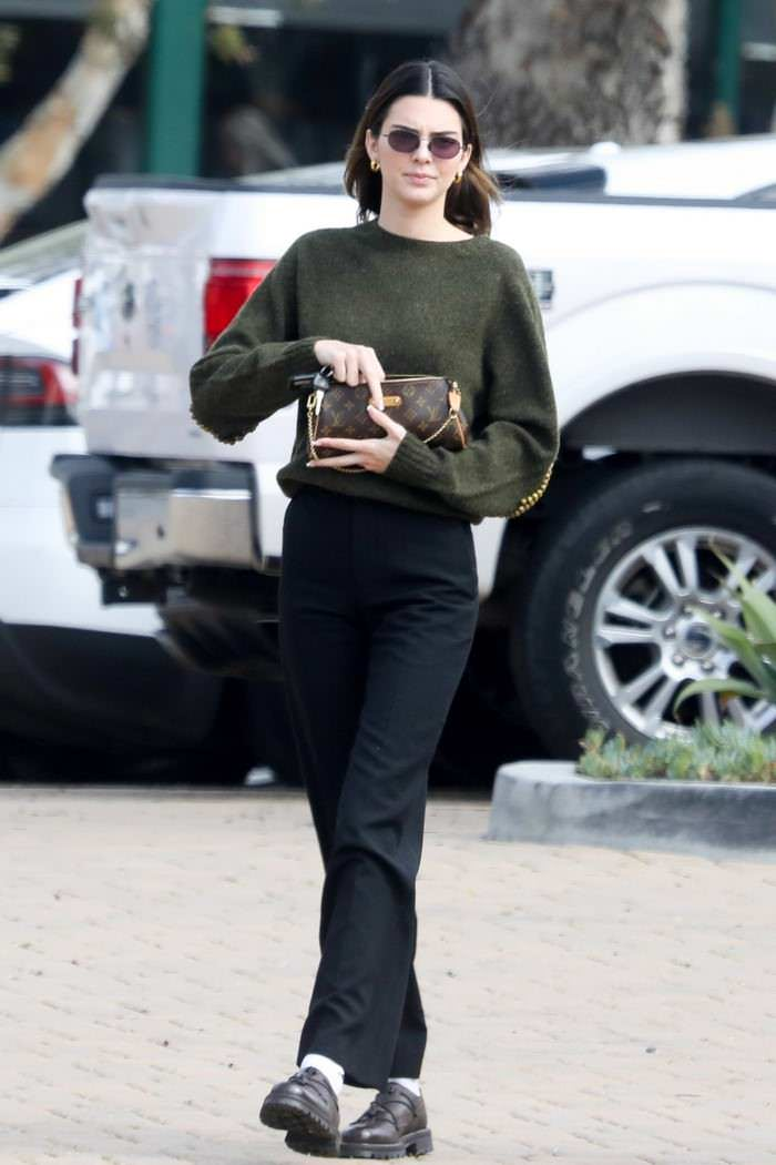 Kendall Jenner and Caitlyn Jenner Out in Malibu