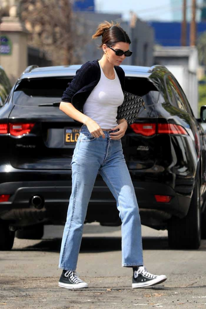 Kendall Jenner Head Out to Breakfast in West Hollywood