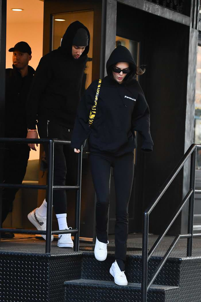Kendall Jenner Leaving Lunch at Bubby's in NYC