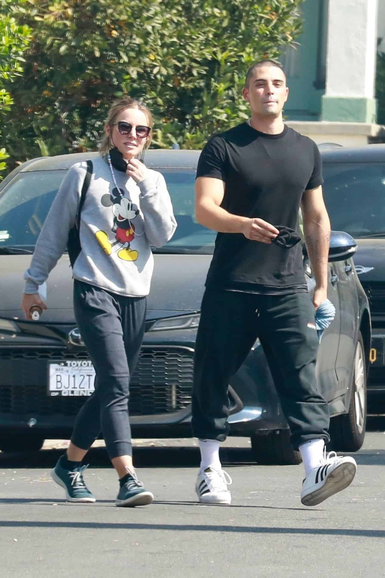 Kristen Bell and Benjamin Levy Aguilar Out in Los Angeles