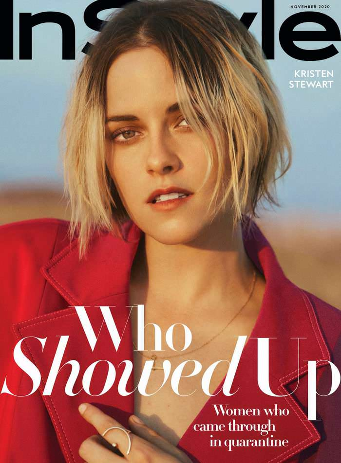 Kristen Stewart on the Cover of InStyle Magazine November 2020 Issue
