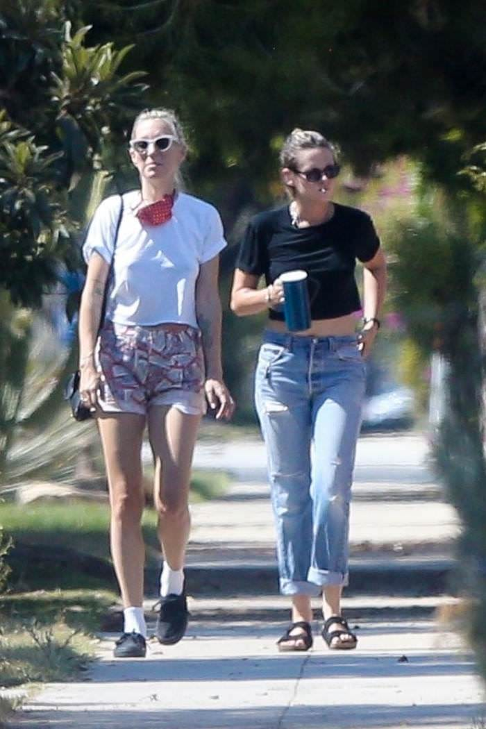 Kristen Stewart Steps Out with Girlfriend Dylan Meyer in LA