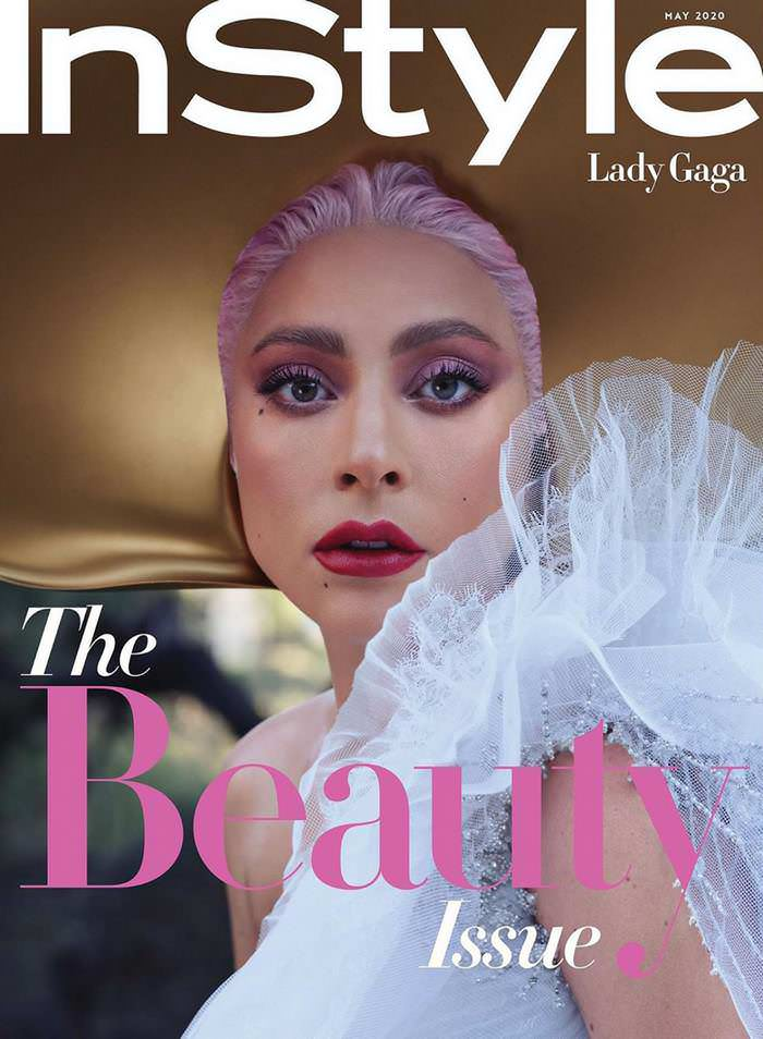 Lady Gaga for InStyle Magazine US-May 2020