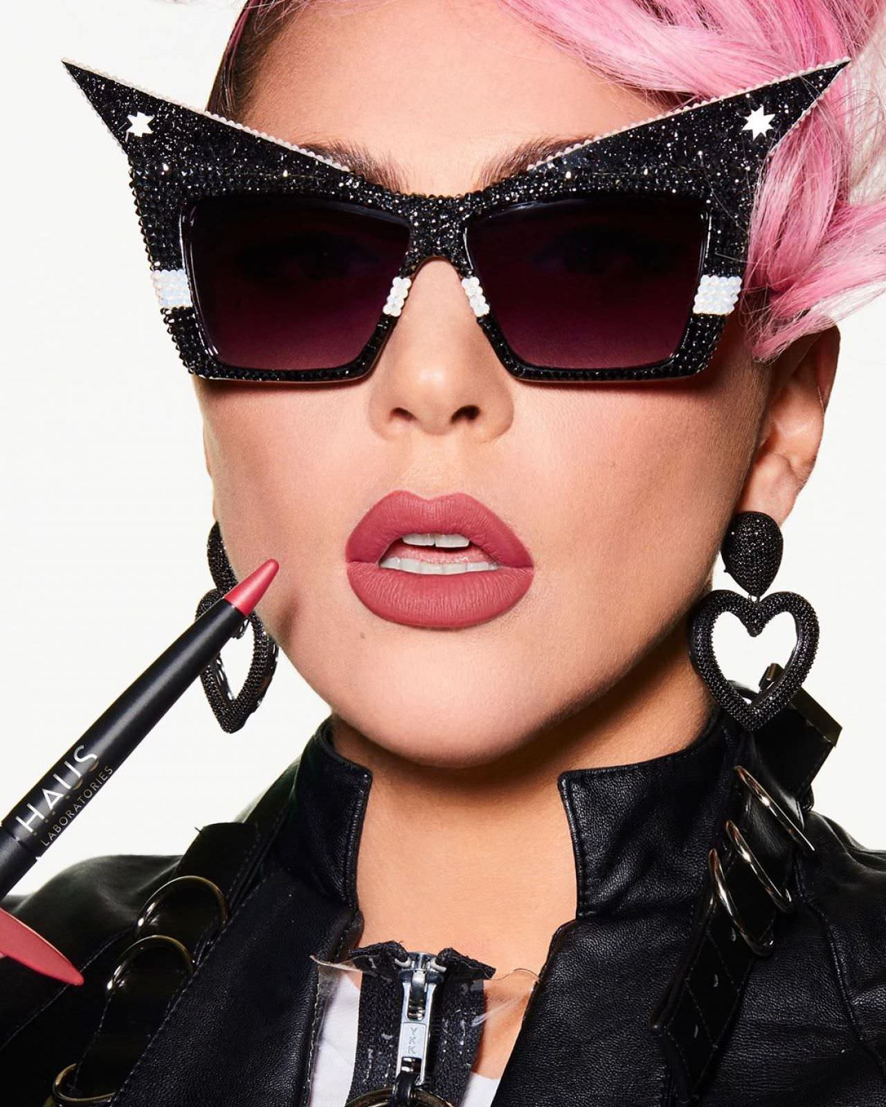 Lady Gaga Photoshoot for Haus Laboratories 2020