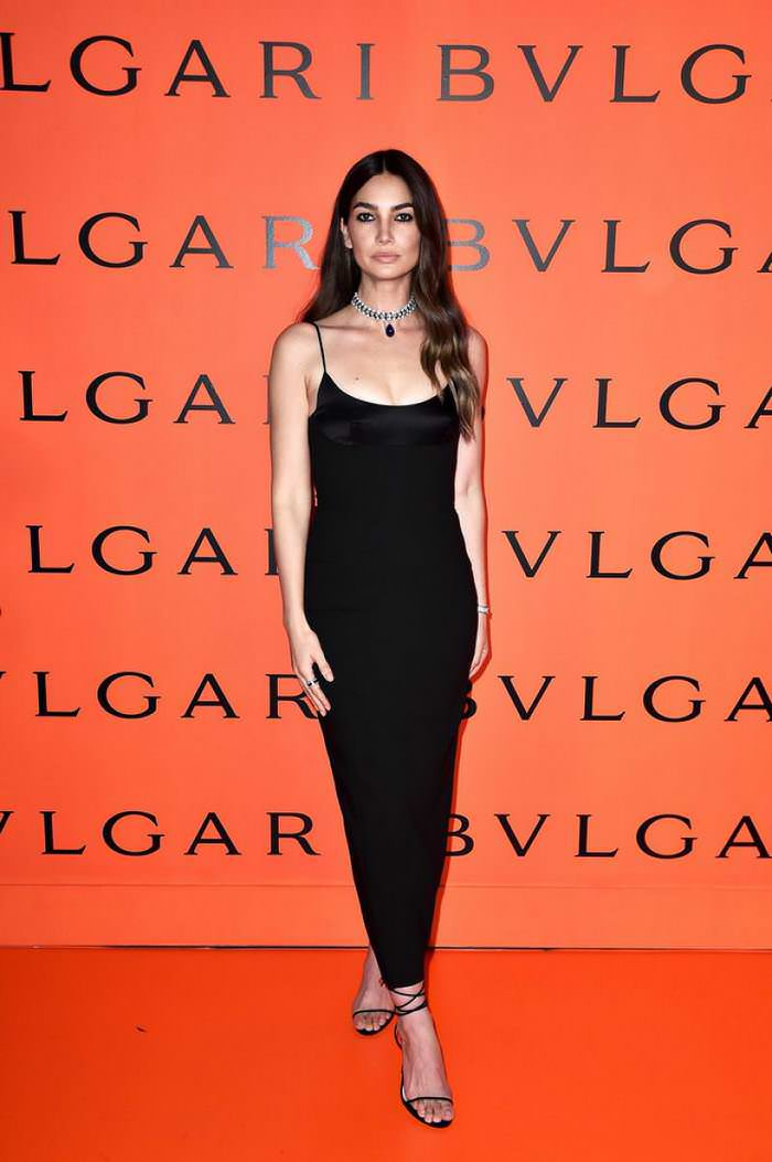 Lily Aldridge at Bvlgari B.zero1 Rock Collection Event