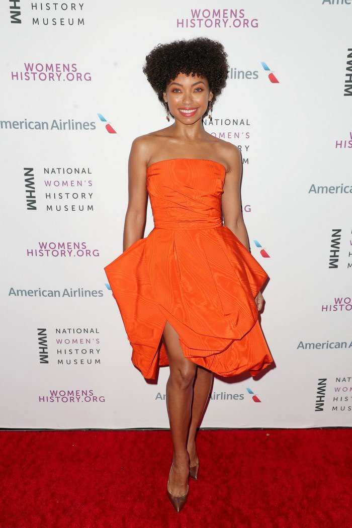 Logan Browning at National Women's History Museum Women Making History Awards
