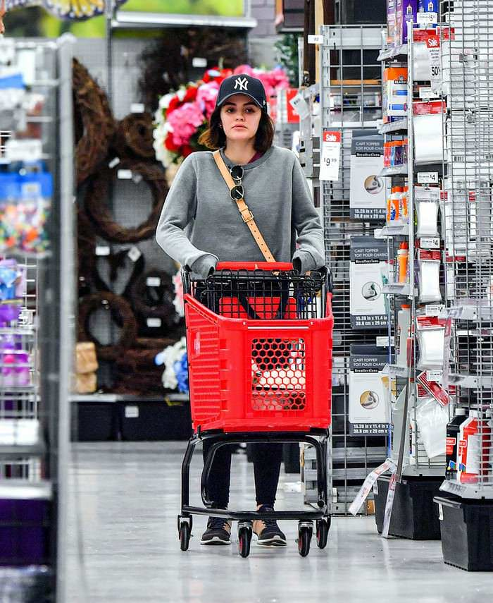 Lucy Hale Shop at the Michaels Store in Studio City