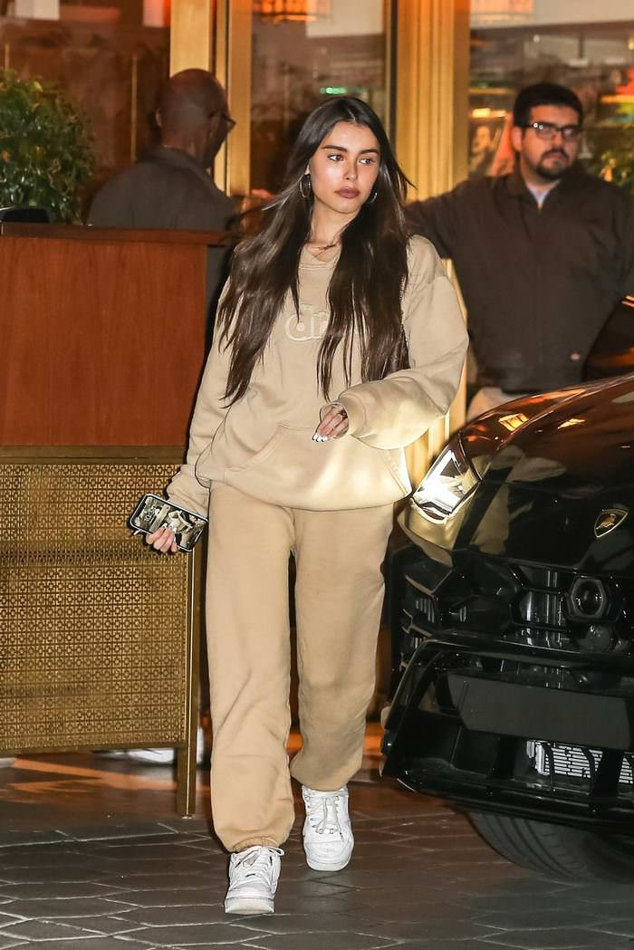 Madison Beer Out for Dinner at the Sunset Tower Hotel