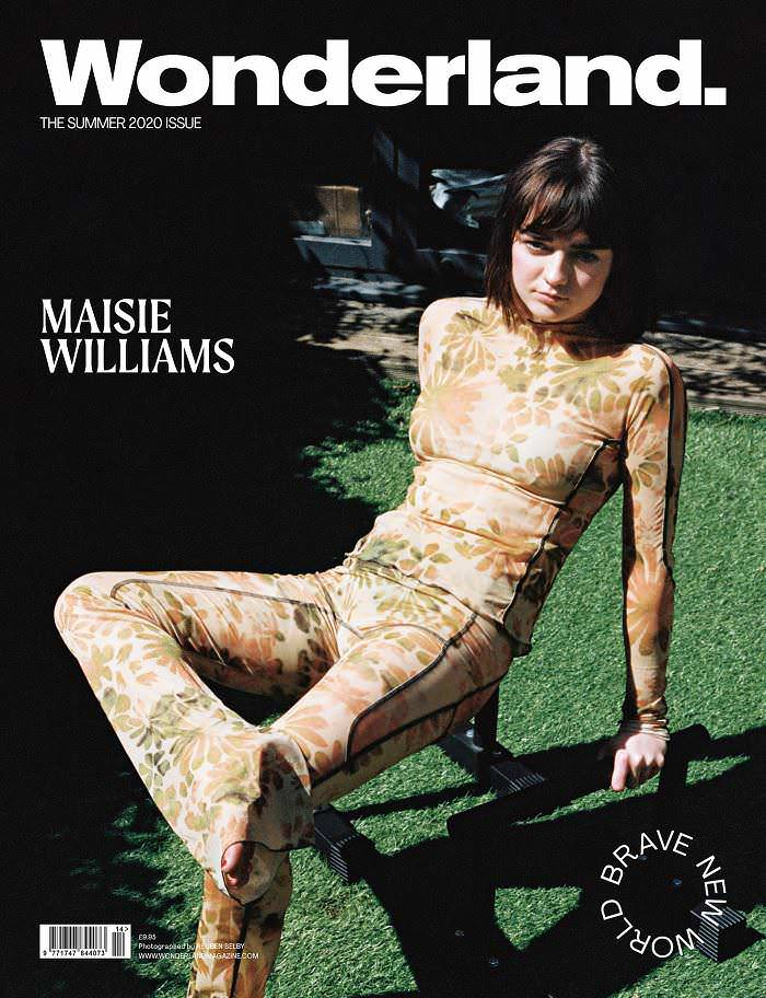 Maisie Williams Covers the Summer 2020 Issue of Wonderland