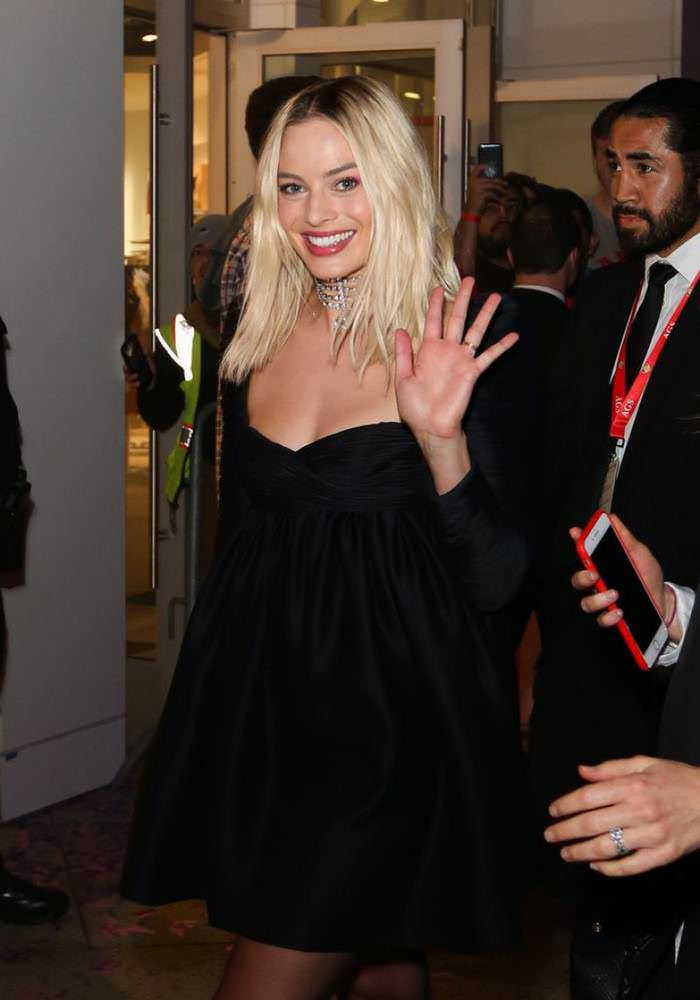 Margot Robbie at Birds of Prey Harleywood and Highland Film Event
