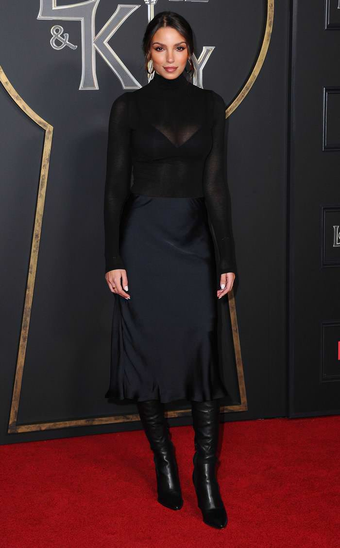 Nadia Gray at Netflix's Locke & Key Series Premiere in Hollywood