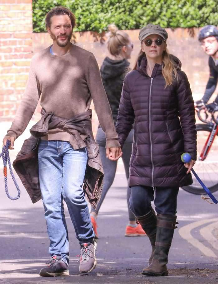 Natalie Dormer Stepped Out with her BF in a Romantic Stroll