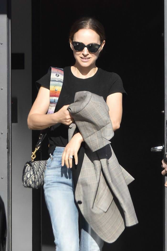 Natalie Portman Leaving a Meeting in Santa Monica