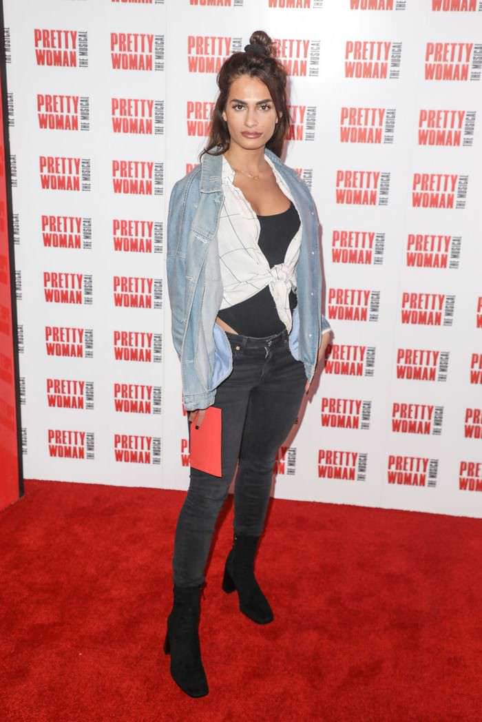 Nicole Bass at Pretty Woman: The Musical Press Night in London