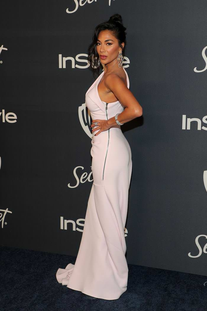 Nicole Scherzinger at 21st Annual Warner Bros & InStyle Golden Globe Party