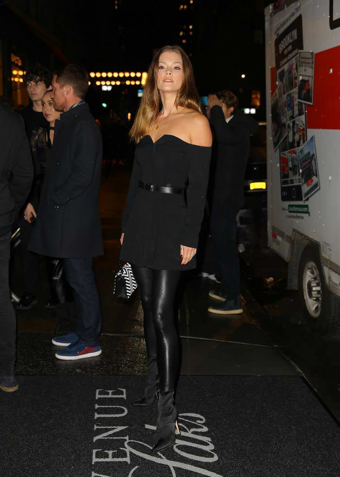 Nina Agdal Attends the L'Avenue at Saks First Anniversary Event in NYC