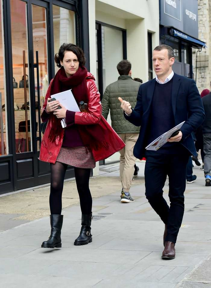 Phoebe Waller-Bridge Stepped Out in London for a Relaxed Stroll