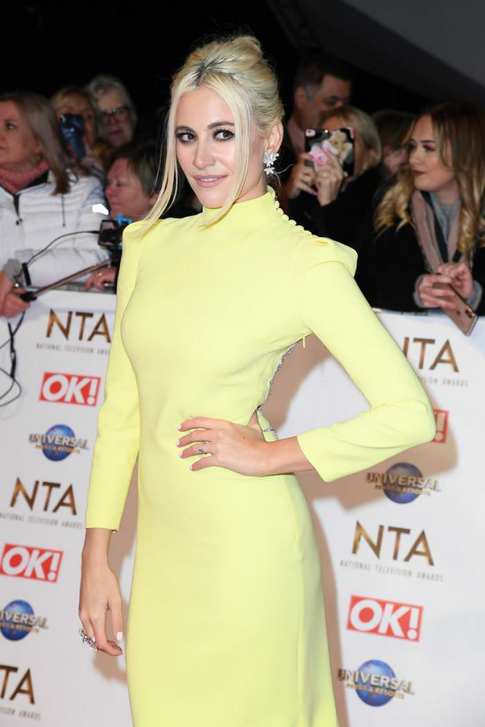 Pixie Lott at National Television Awards 2020 at The O2 Arena in London