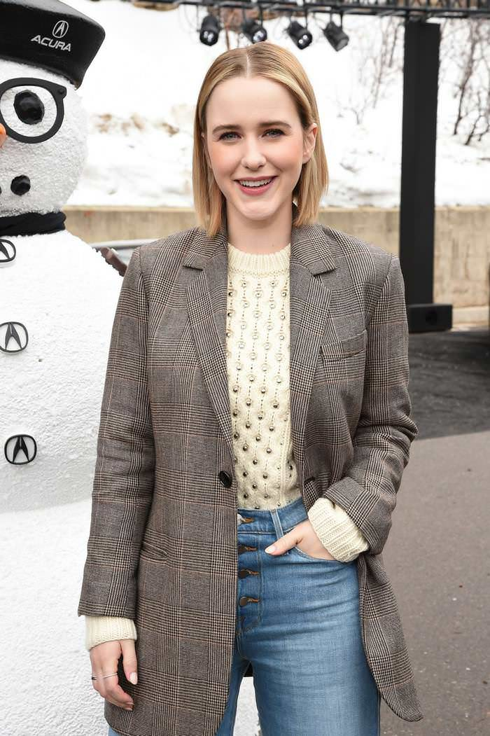 Rachel Brosnahan at 2020 Sundance Film Festival in Park City