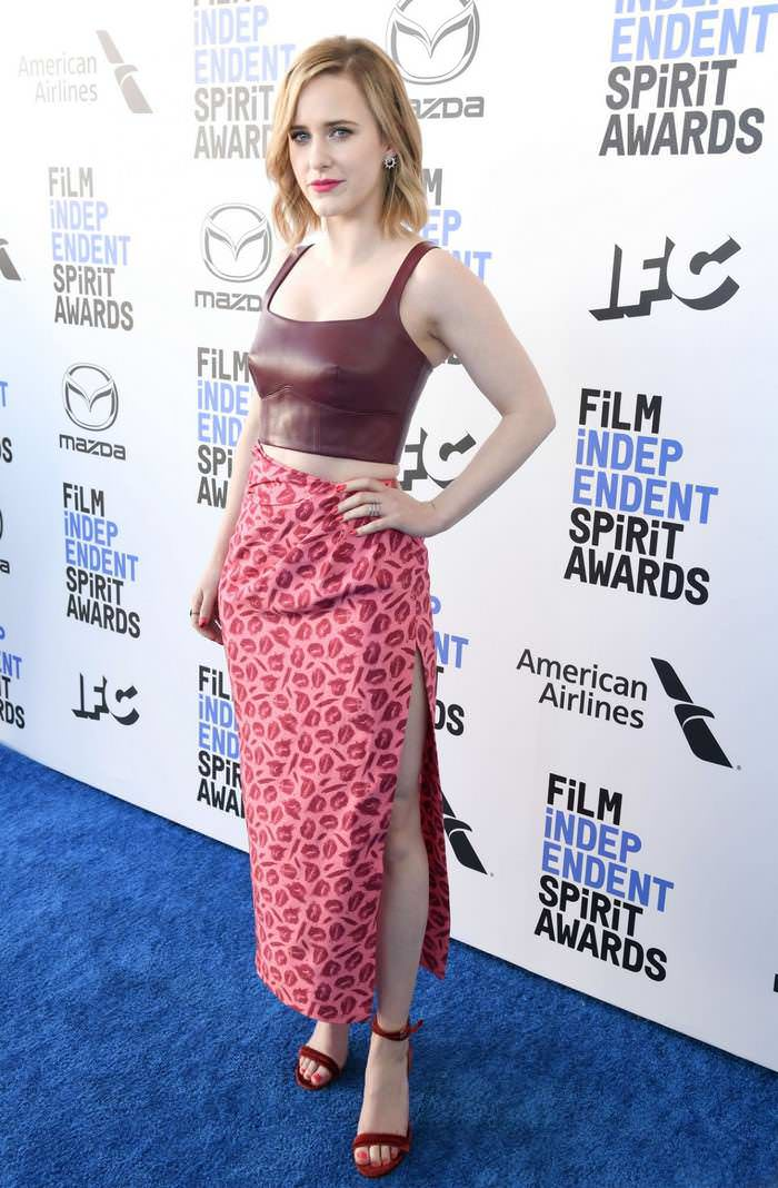 Rachel Brosnahan at Film Independent Spirit Awards in Santa Monica