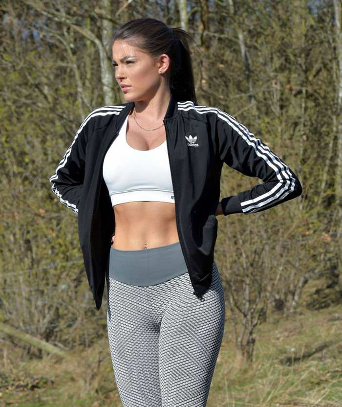 Rebecca Gormley Outdoor Workout Session in Newcastle