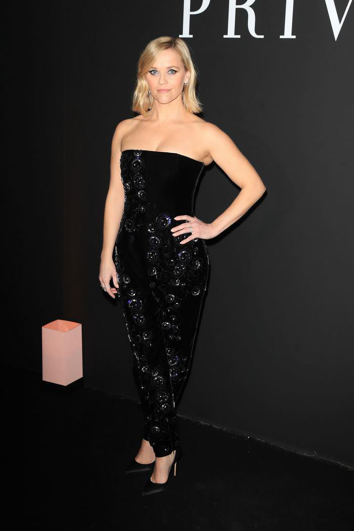 Reese Witherspoon at Giorgio Armani Prive Haute Couture Show