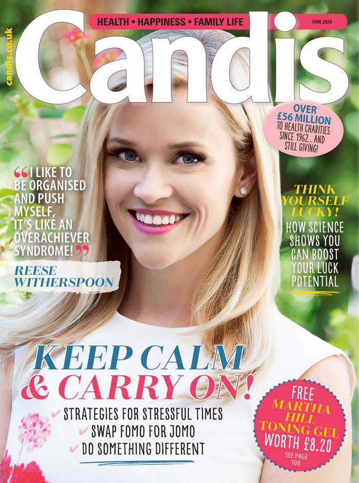 Reese Witherspoon Gracing the Cover of Candis Magazine 2020