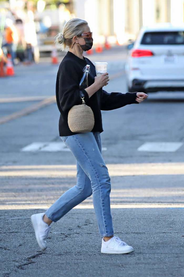 Retired Actress Cameron Diaz Looks Cozy while Running Errands in LA