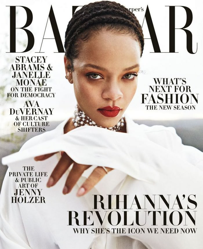 Rihanna Covers Harper's Bazaar September 2020 Issue