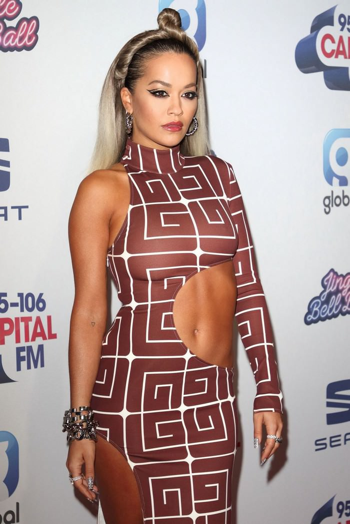 Rita Ora at Capital's Jingle Bell Ball in London