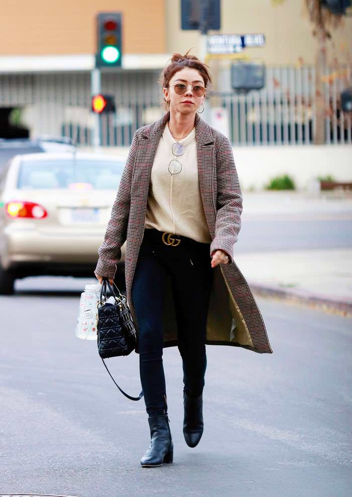 Sarah Hyland Out in Studio City, California