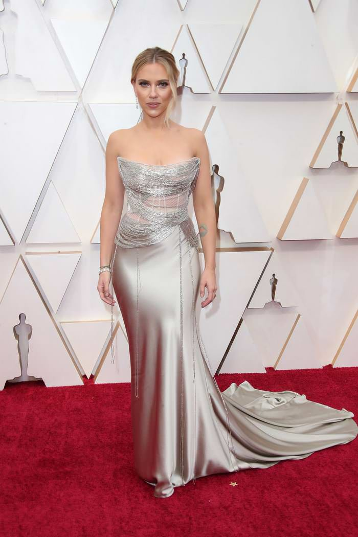Scarlett Johansson at 92nd Annual Academy Awards Oscars 2020 Red Carpet