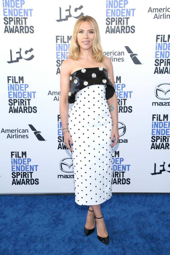 Scarlett Johansson at Film Independent Spirit Awards in Santa Monica