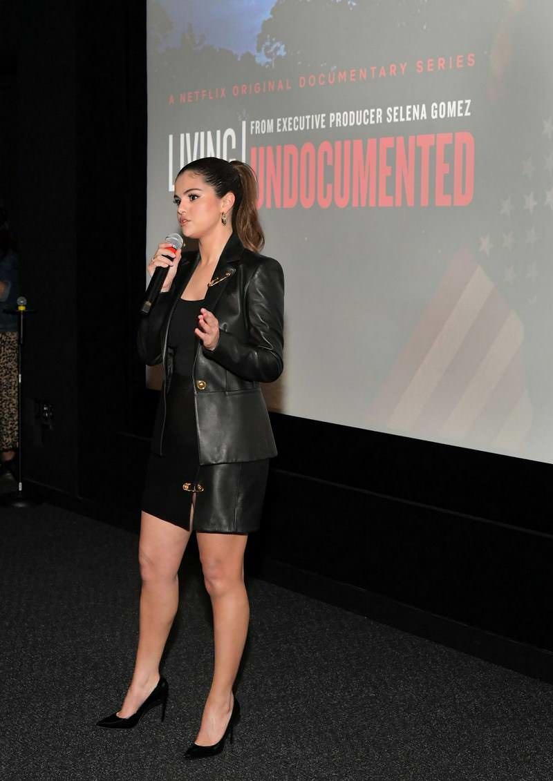 Selena Gomez at Living Undocumented Screening in LA