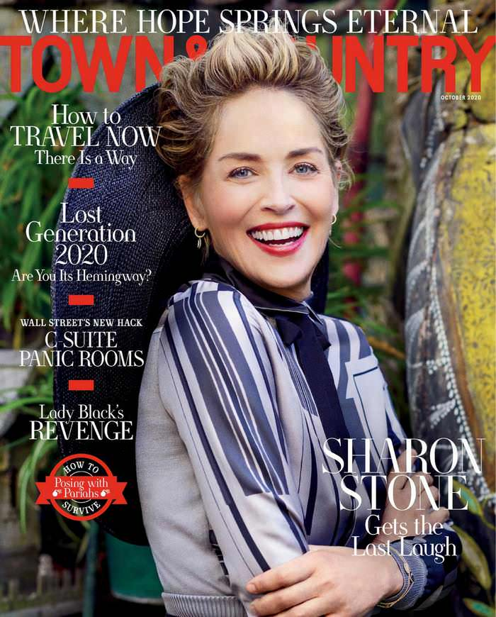 Sharon Stone Reveals Her Sexual Harassment Experience in Town & Country Magazine