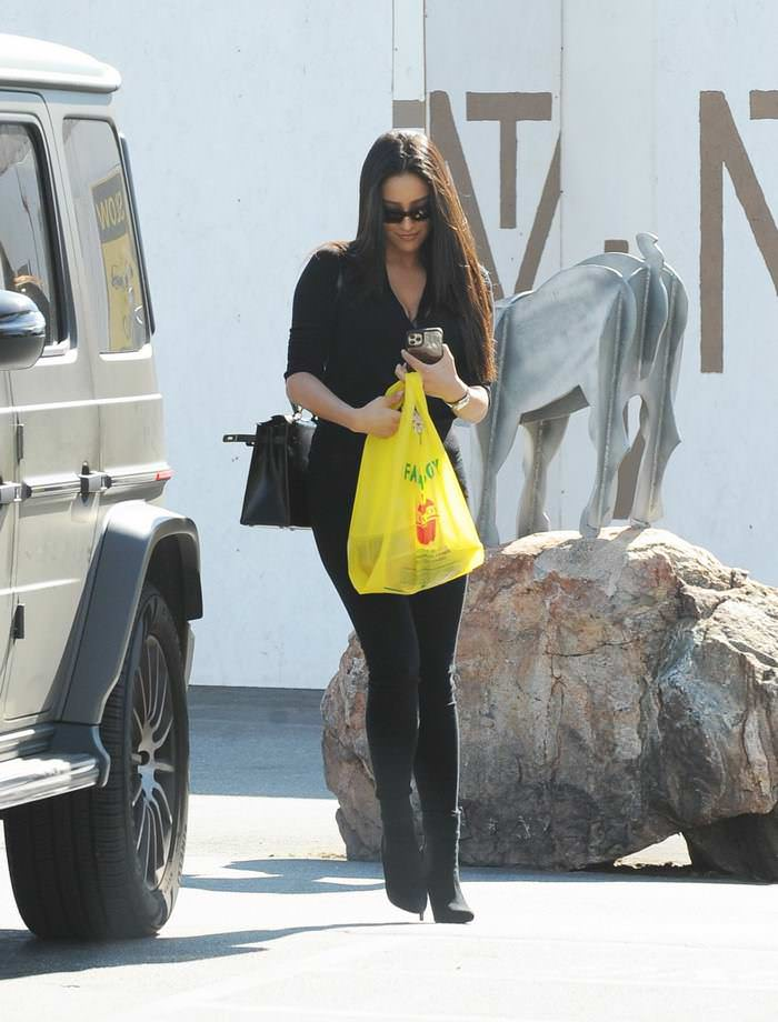 Shay Mitchell Out Shopping in Los Angeles