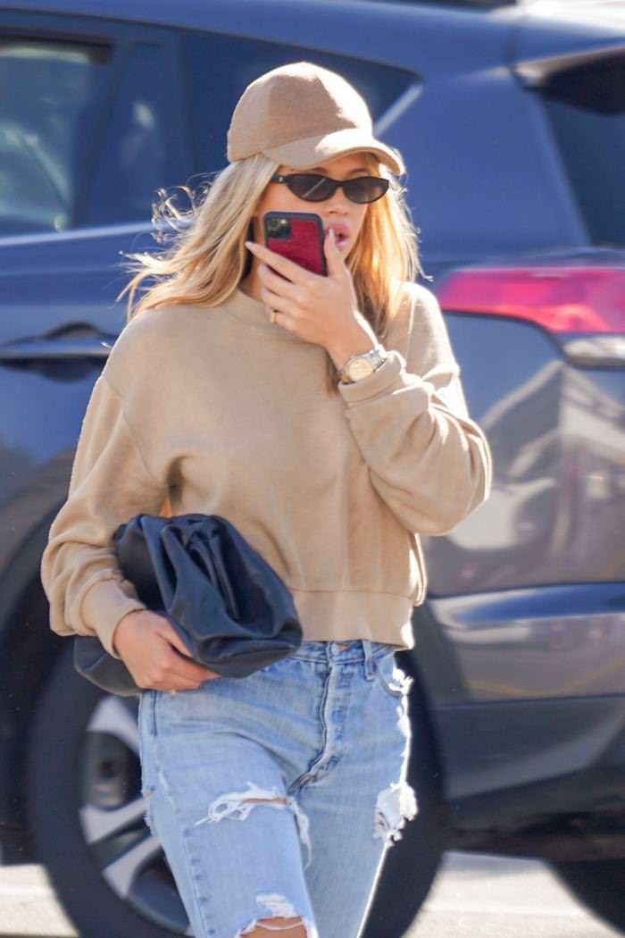 Sofia Richie Shopping in Santa Barbara
