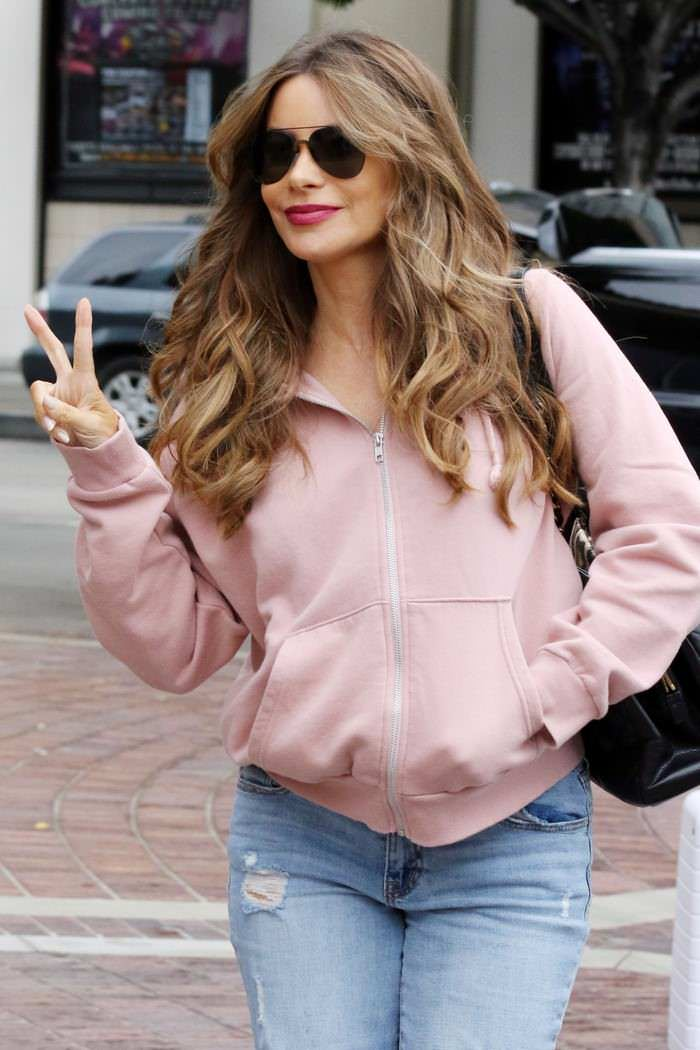 Sofia Vergara Arrives at AGT Without a Live Studio Audience in Pasadena