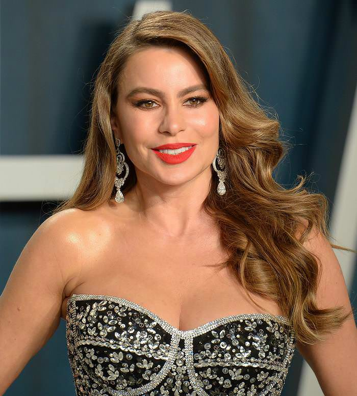Sofia Vergara at Vanity Fair Oscar Party in Los Angeles
