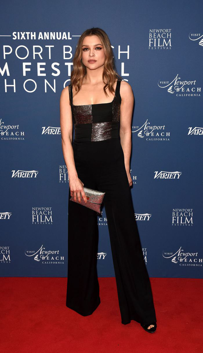 Sophie Cookson at Newport Beach Film Festival UK Honours at The Langham Hotel in London