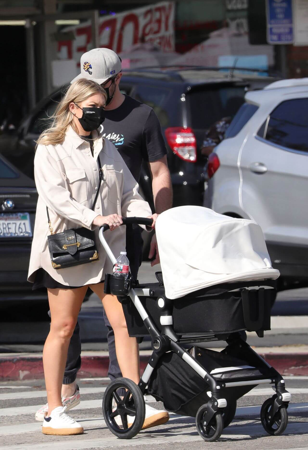 Stassi Schroeder and Beau Clark in LA with Their Newborn Daughter