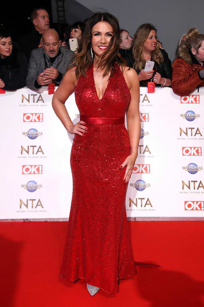 Susanna Reid at 2020 National Television Awards in London