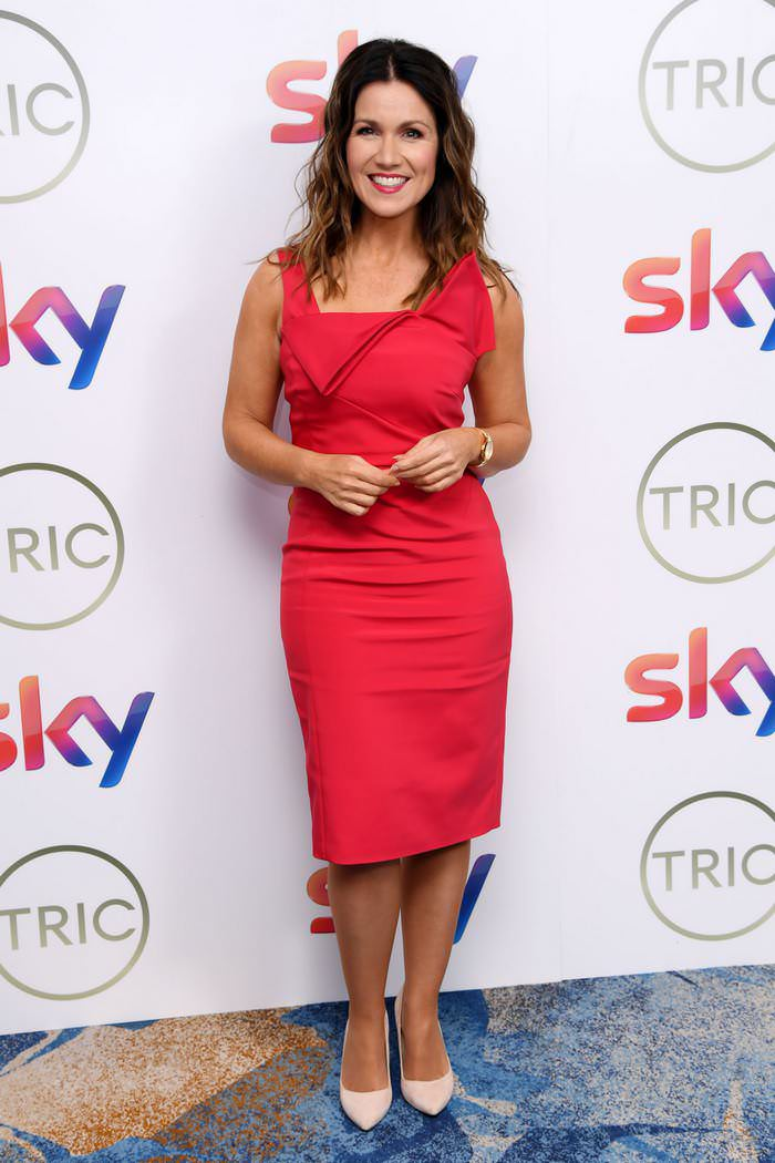 Susanna Reid at TRIC Awards at the Grosvenor House Hotel in London
