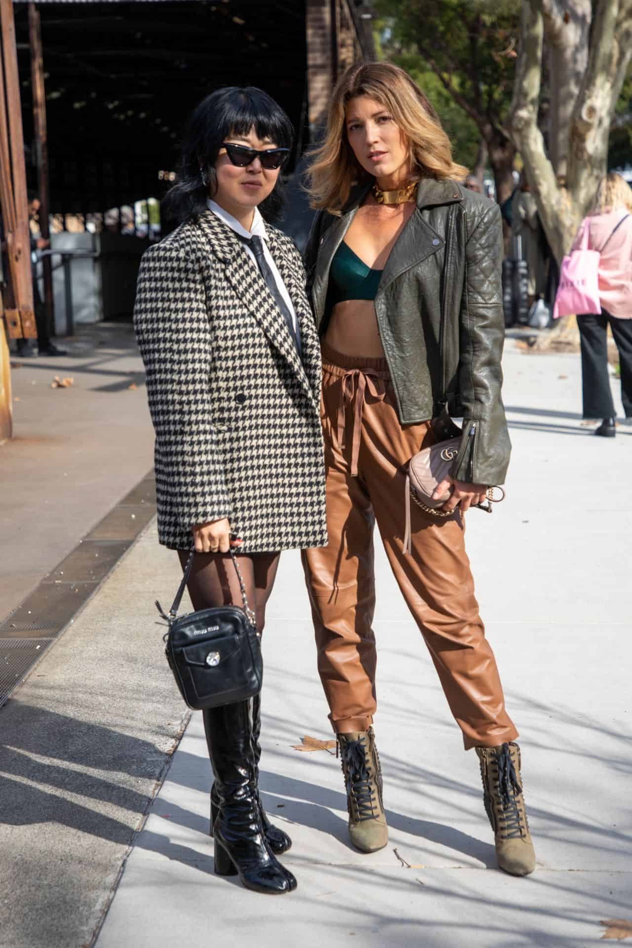 Tanja Gacic at Afterpay Australian Fashion Week in Sydney