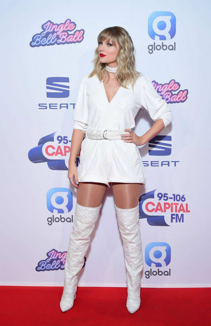 Taylor Swift at Capital FM Jingle Bell Ball in London