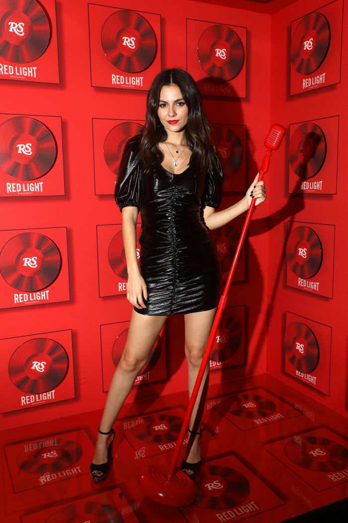 Victoria Justice at Red Light Management Grammy After Party in West Hollywood