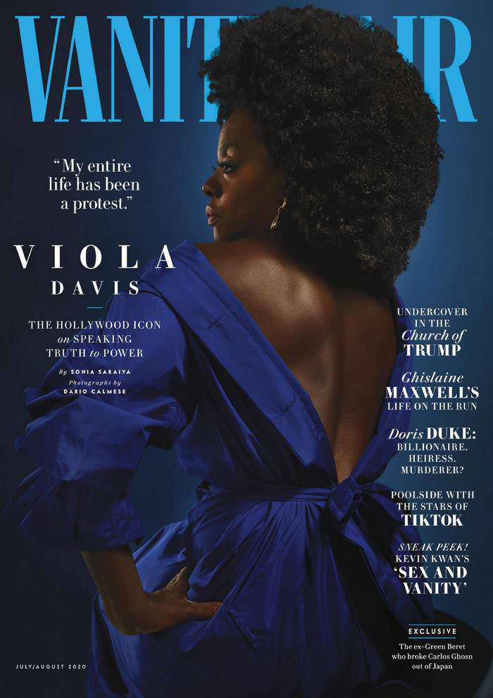 Viola Davis Appears on the Cover of Vanity Fair's July 2020 Issue