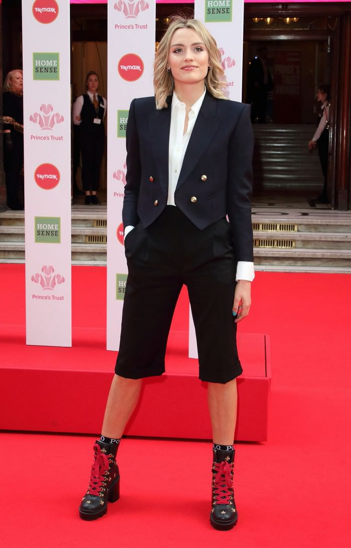 Wallis Day at The Prince's Trust Awards at London Palladium