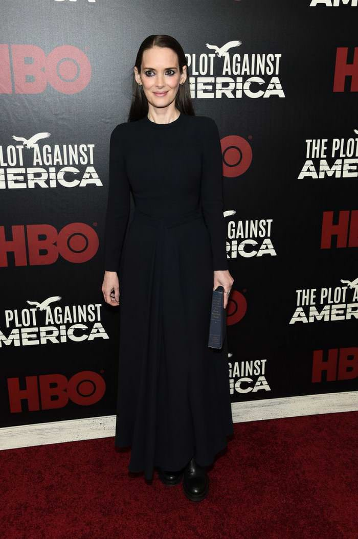 Winona Ryder at The Plot Against America Premiere in NYC