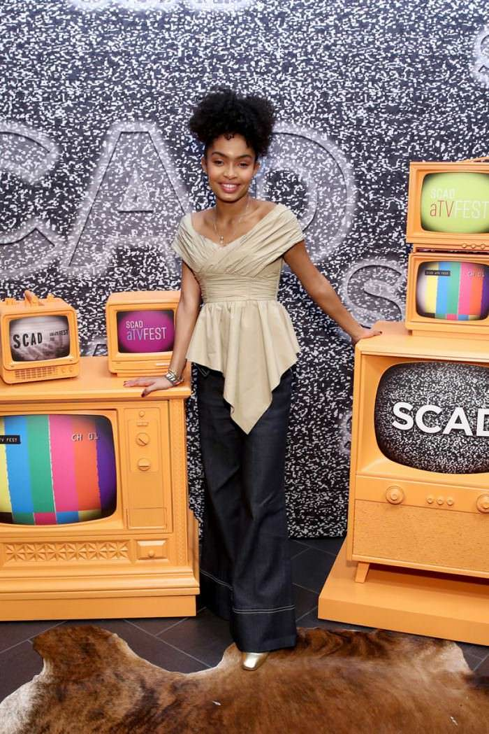 Yara Shahidi at SCAD aTVfest in Atlanta